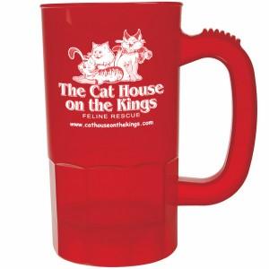 14 OZ Red Plastic Mug