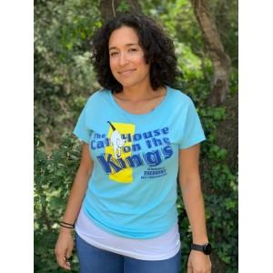 Women's Light Blue Eyebrows Memorial T-Shirt