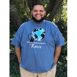 Men's The World Needs Love Tshirt