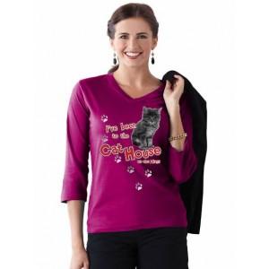 Fuchsia 3/4 sleeve - 25th anniversary