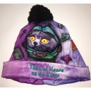 Cosmic Cat Beanie with emrboidery